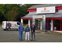 HETAS qualified Stove Fitter wanted by Kinross Stove & Cooker Centre.