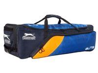 Slazenger Elite Wheelie Bag 73 Blue/Orang