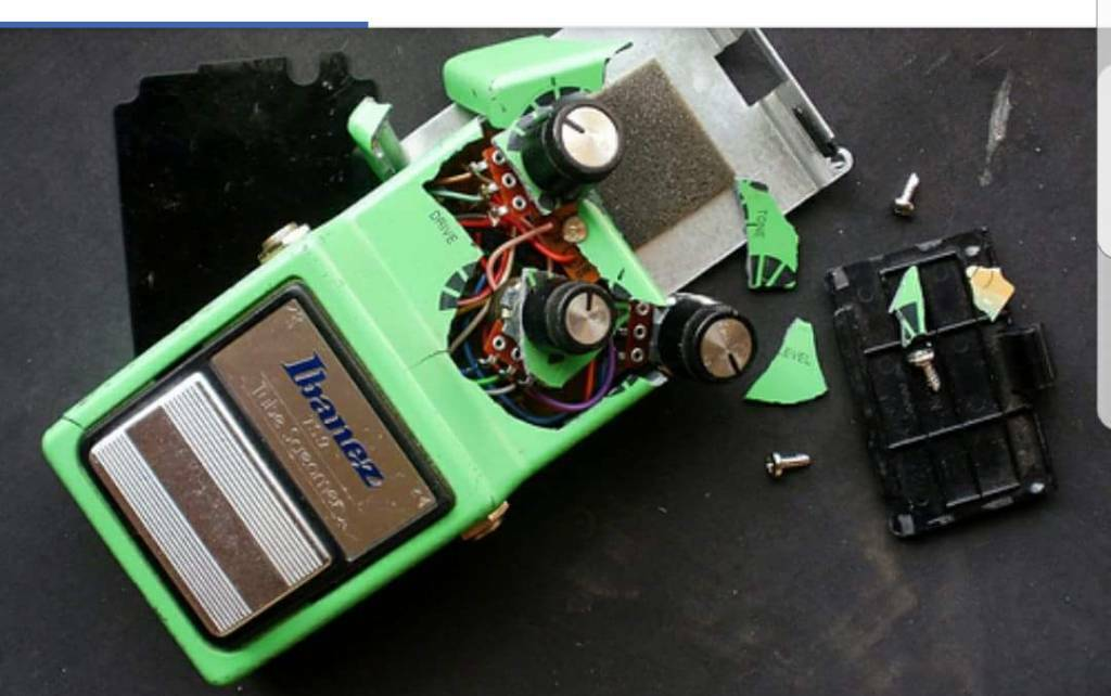 Do you have unwanted Guitar Pedals?