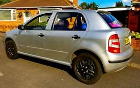 Skoda fabia 1.2 htp 75k low miles first car, 5 door petrol