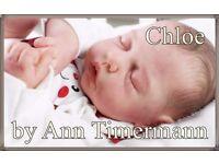 REBORN CHLOE ANN TIMMERMAN LIFELIKE DOLL