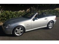 AMG MERCEDES BENZ 230 SLK EXCELLENT CONDITION SERVICE HISTORY LOW MILEAGE AMG AUTO SLK CONVERTIBLE