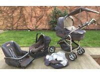Mamas & Papas Pushchair/Pram/Stroller 3 in 1 Travel System