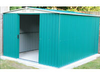 Metal 8x10 Shed. Brand new still in boxes. Sale or exchange for 6x4 trailer or bigger.