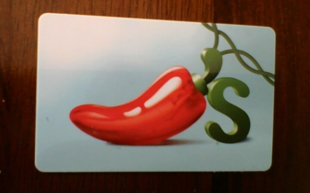 50 Chili s Gift Card - Also Good At Maggiano s, On The Border - $40.00