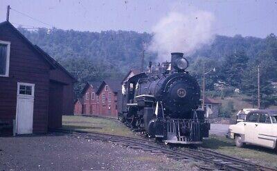 EAST BROAD TOP Railroad Locomotive ORBISONIA PA EBT 1965 Original Photo Slide