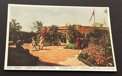 Kensington Arch (Postcard Derry Gardens Kensington Roof Garden Arch Wall London 1714)