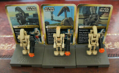 Lego Star Wars Vintage Rare Set 3343 Battle Droid Figures Complete (No Box)