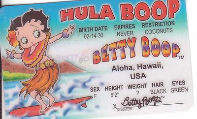 Betty Boop Cartoon Comic Icon Retro Hawaii Hula Boop Adult Crewneck Sweatshirt