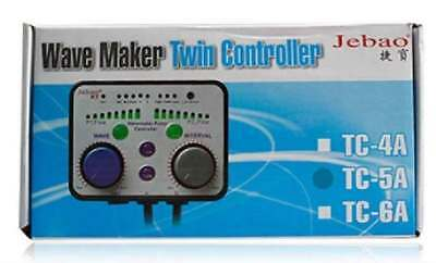 Jebao TC-5A WP-40 WP-25 aquarium wave maker Pump TWIN controller coral reef tank