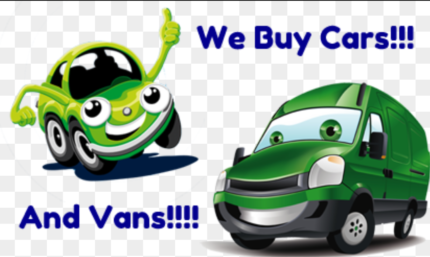 Wanted: WE BUY ALL UNWANTED CARS, VANS & 4X4S!