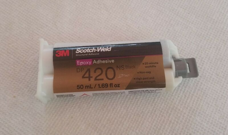 3M Scotch - Weld Epoxy Adhesive  DP420 Black 1.69 fl oz (50ml)