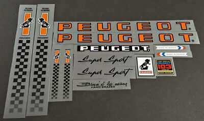 Decal 07215 Peugeot Bicycle Sticker Transfer