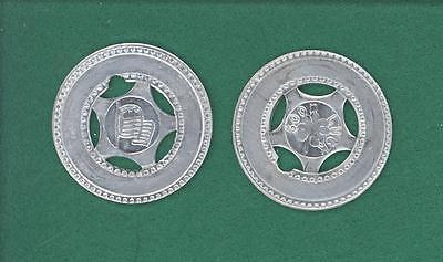 Custom Good Luck Metal Typer Token Coin Birthday Anniversary MILITARY Gift  FLAG