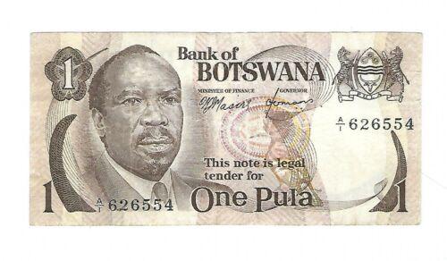 Botswana - One (1) Pula, 1976