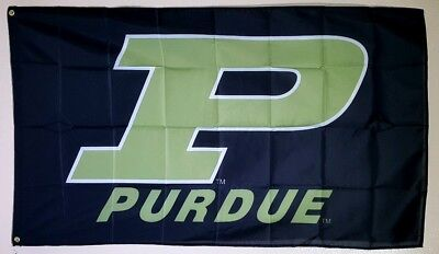 Purdue Banner 3x5 Ft Flag Man Cave Decor Football Basketball NCAA Boilermakers](Basketball Banners)