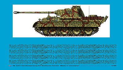 Peddinghaus 1/48 ep 3293 Streifentarnung für späte deutsche Panzer