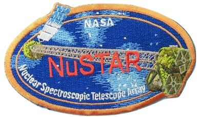 Nasa Patch Vtg Nustar Nuclear Spectroscopic Telescope Array   Almost 4 5