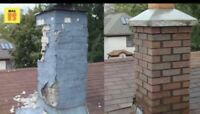 Chimney Repairs, Concrete Flatwork and Masonary Projects