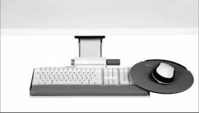 Humanscale 6g Series 900 Keyboard Tray W 8.5 Mouse Platform 7 Adj. Arm