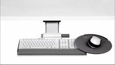 Humanscale 6g Series 900 Keyboard Tray W 8.5 Mouse Platform 7 Adj. Arm