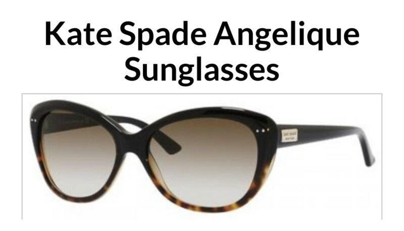LENSES ONLY!! Kate Spade Angelique brown gradient Sunglasses LENSES ONLY