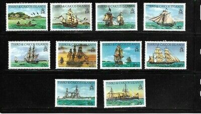 Turks & Caicos Islands 1983 Ships MNH