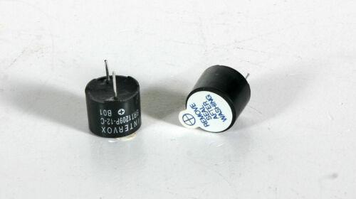 Buzzer - 12Vdc, 2300 Hz - 2 Pieces