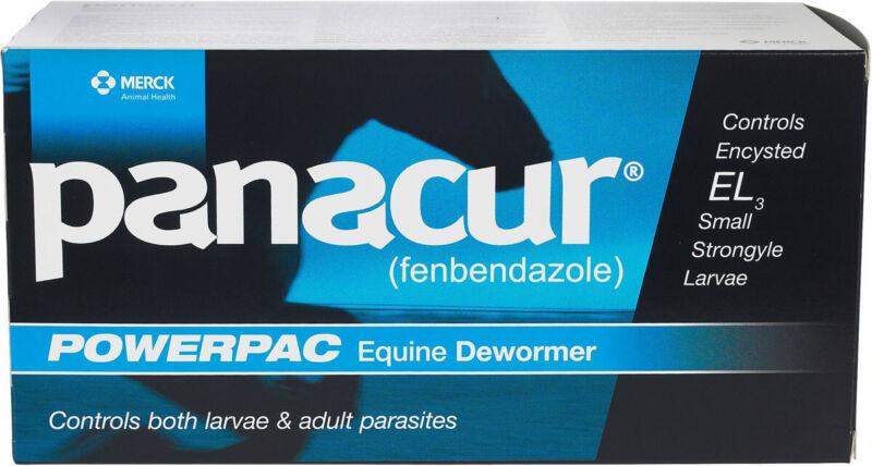 Panacur PowerPac Paste Horse Wormer 5x57 gm