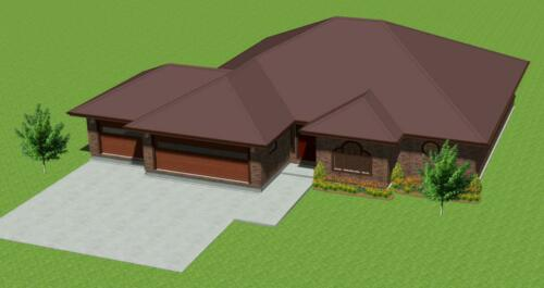 WE WILL DESIGN YOUR ONE-STORY HOME BASED ON YOUR FLOOR PLAN SKETCH