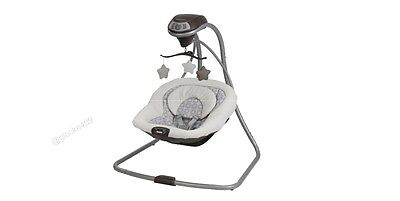 NEW Graco Simple Sway Baby Swing in Abbington FREE SHIPPING