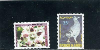 Djibouti 1989 Scott# 651-2 mint LH