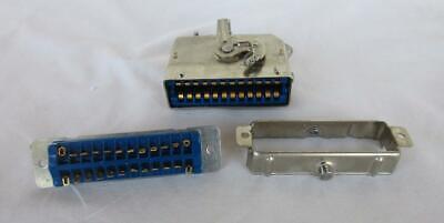 Amphenol Model 25-4301-24s 24 Pin Connector New No Box