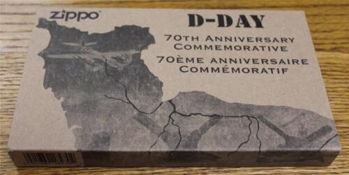 NEW Zippo 70th Anniversary D-Day Commemorative Limited Editi