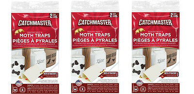 6 Catchmaster Pantry Pest Moth Traps Control Indian Meal Tobacco Mediterranean