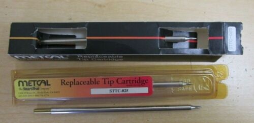 Metcal  STTC-025 Replaceable Tip Cartridges (3 pcs.)  NEW/NEW-no box