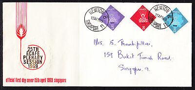 Singapore 1969 E.C.A.F.E Plenary  First Day Cover Addressed