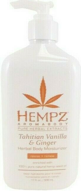 Hempz Tahitian Vanilla & Ginger Herbal Body Moisturizer