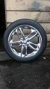 XSE P245/45 R 18 Rims and Tires