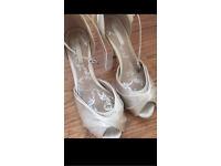 Wedding Satin Shoes Size 6