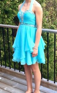 Blue Formal Dress - Perfect Condition