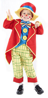 Clownskostüm klein für Jungen Cod.173944