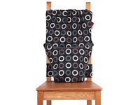 Travel chair (harness) --> Totseat – washable, squashable highchair