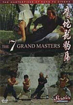 7 Grandmasters -Hong Kong RARE Kung Fu Martial Arts Action movie - NEW DVD