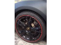 Alloy wheel protection Audi A3 S3 A4 S4 RS4 A5 S5 RS5 A6 A7 Q3 Q5 Q7 SLine TDI FSI 3.2 2.0 TT SE RS
