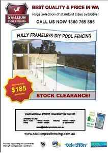 DIY GLASS POOL FENCING Cannington Canning Area Preview