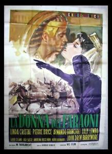 La-Donna-Dei-Faraoni-Linda-Cristal-Italian-movie-Poster-4F-Manifesto-60s