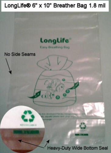 6 X 10 LongLife® Breather Bags +++ KORDON ALTERNATIVE & USA SELLER +++