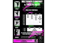Maz Dance Company & Theatre Arts
