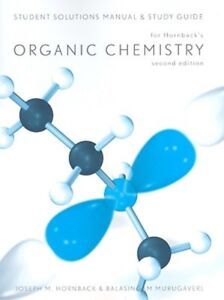 Organic Chemistry by Joseph Hornback - Solutions Manual